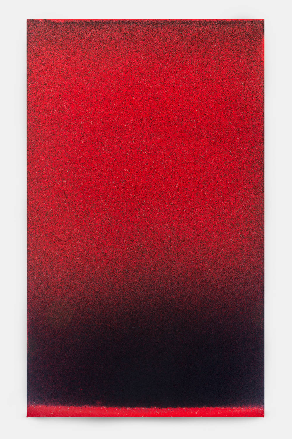 John Knuth (b. 1978), Redhook Blackout, 2019. Acrylic/Flyspeck on canvas 60 x 36 inches