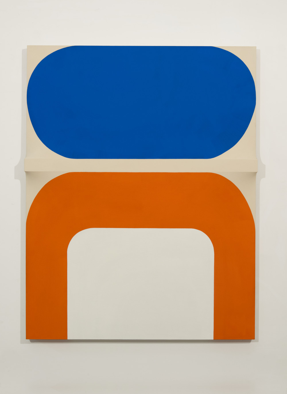 Sven Lukin (b. 1934), Untitled, 1962–3. Oil on canvas construction 63 5/8 (H) x 49 3/4 (W) x 4 1/2 (D) inches