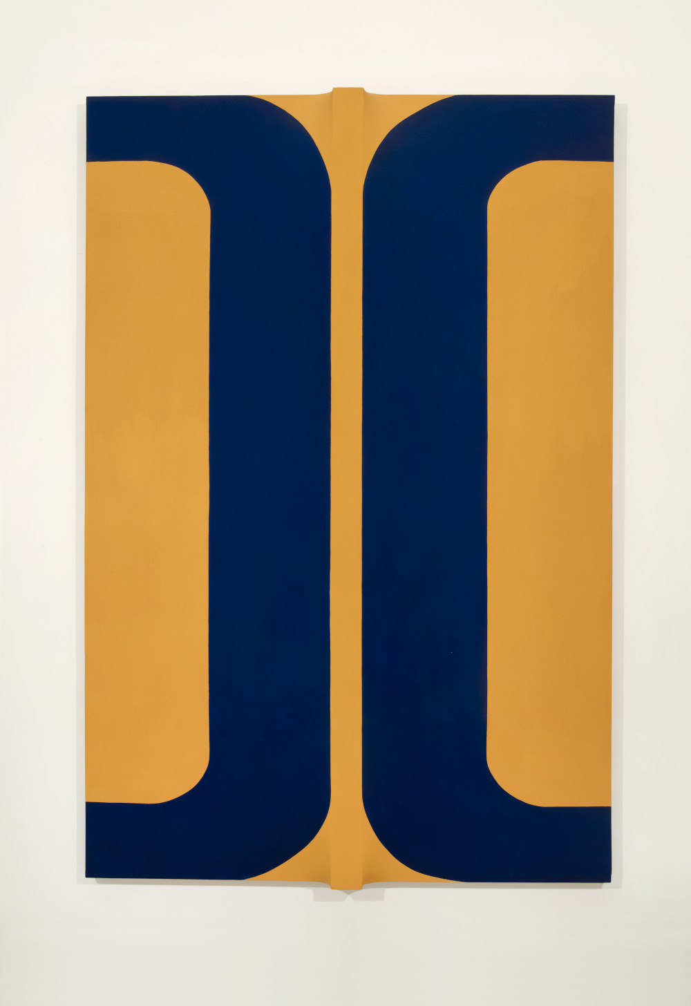 Sven Lukin (b. 1934), Untitled L#9, 1963. Acrylic on canvas construction 71 1/4 (H) x 48 1/8 (W) x 4 1/4 (D) inches