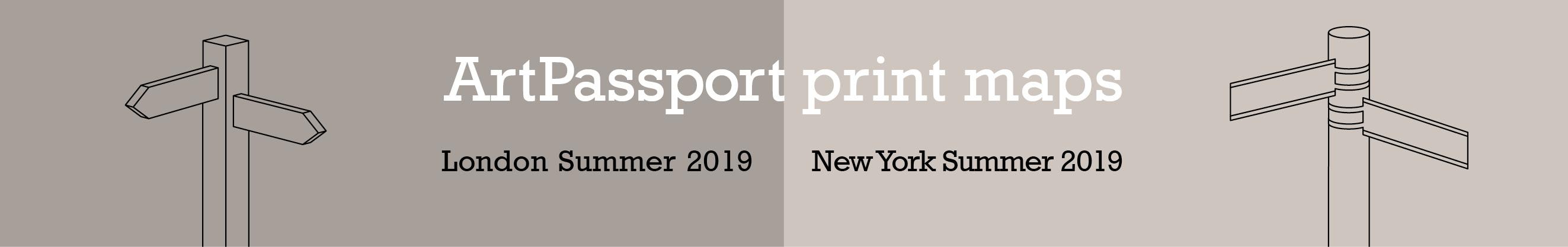 ArtPassport Summer print maps available now