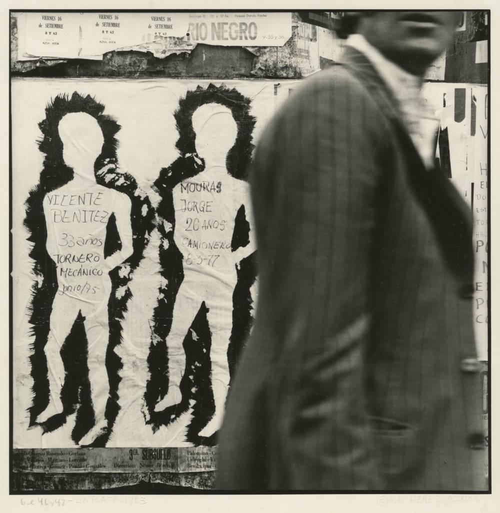 Ataúlfo Pérez Aznar, Disappeared, Calle 6 between 46 and 47, La Plata, 1983 © Ataúlfo Pérez Aznar. Courtesy of the artist