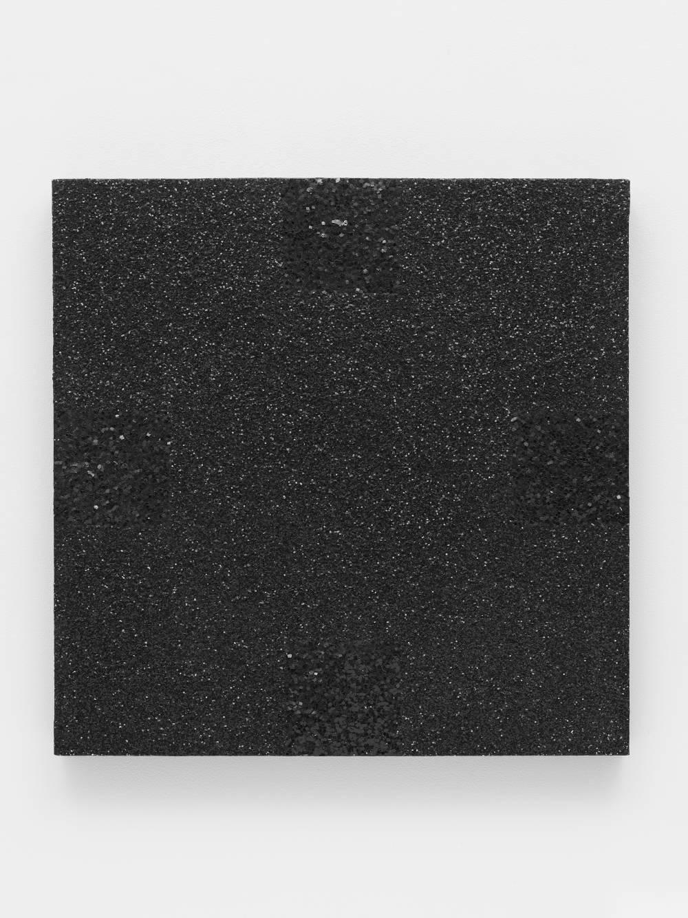 Untitled (Black Light Painting, Glitter Series)