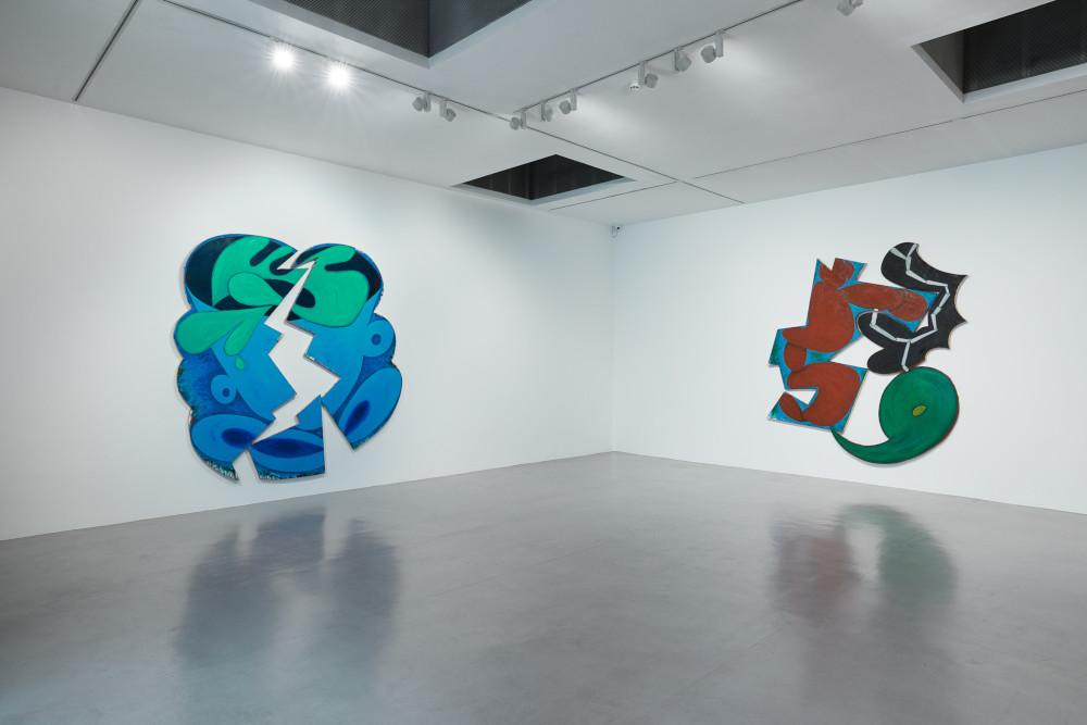 Camden Arts Centre Elizabeth Murray 1
