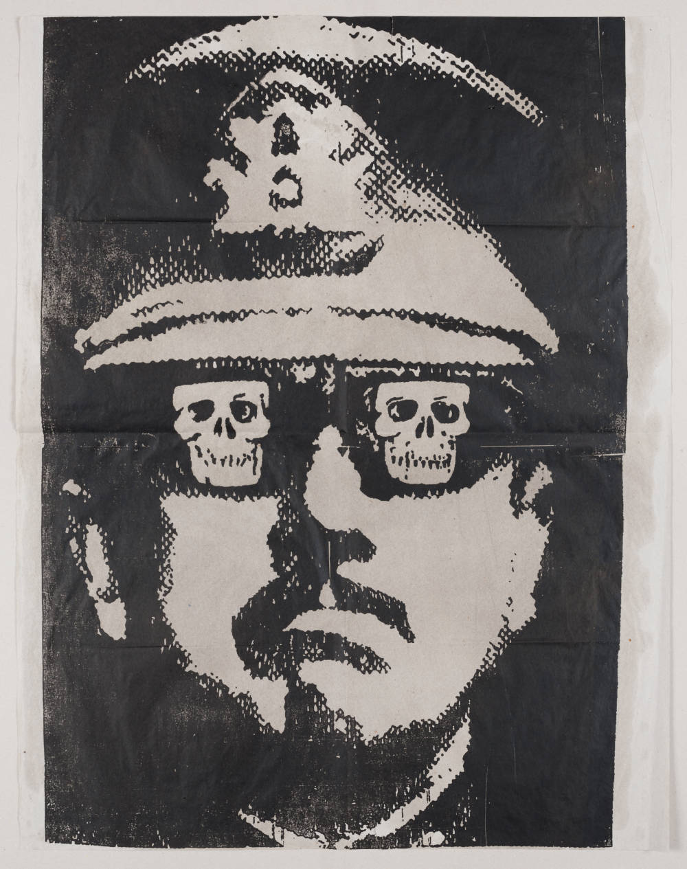 Fernando Bedoya, Pinochet, 1987 © Fernando Bedoya. Courtesy of the artist