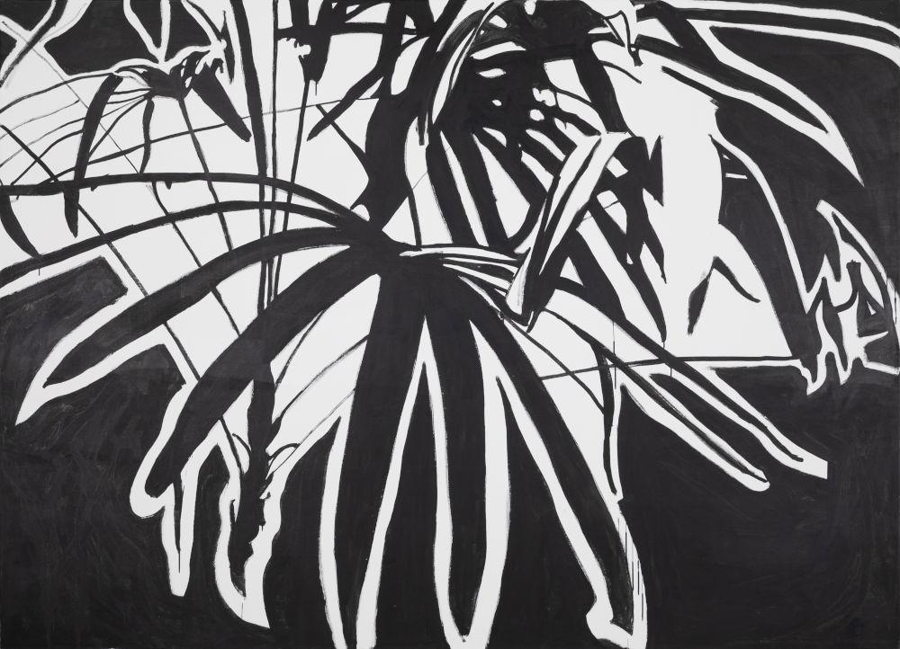 Franz Graf, ALLMYFRIENDDARE..., 2018 - 2019. Graphite and ink on wood 180 x 250 x 8 cm