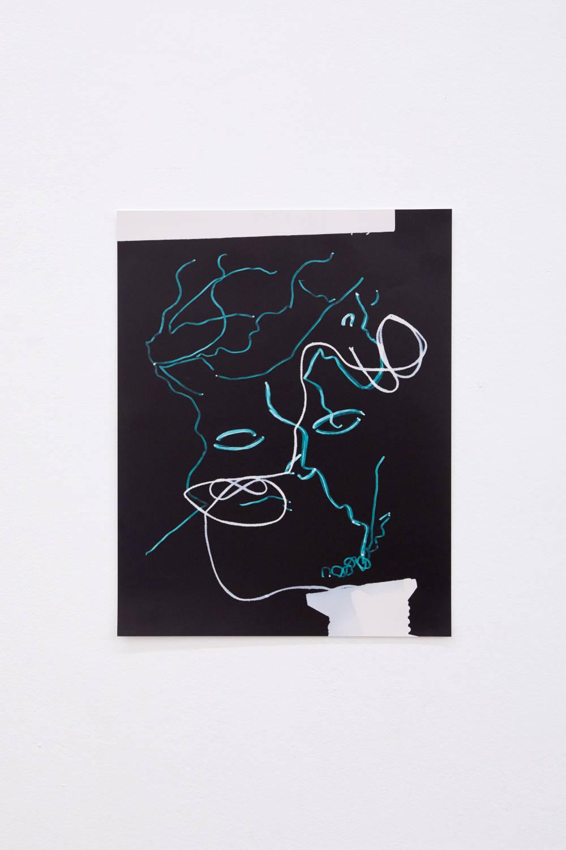 Hannah Buonaguro, untitled, 2019. Unique c-print 35 x 28 cm (13.78 x 11.02 inches) Courtesy of the artist & VNH Gallery. Photo: Johanna Benaïnous