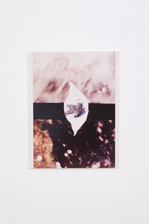 Hannah Buonaguro, adriatic sea, 2019. Unique c-print 35 x 28 cm (13.78 x 11.02 inches) Courtesy of the artist & VNH Gallery. Photo: Johanna Benaïnous