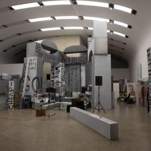 Gelatin & Liam Gillick. Stinking Dawn @Kunsthalle Wien Museumsquartier, Vienna  - GalleriesNow.net