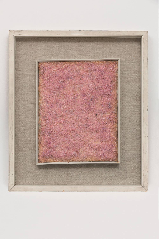 Piero Manzoni, Achrome, c. 1960. Cobalt chloride 30 x 40 cm / 11 3/4 x 15 3/4 in. Courtesy Fondazione Piero Manzoni, Milan and Hauser & Wirth. Photo: Agostino Osio © Fondazione Piero Manzoni, Milan