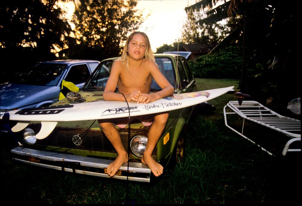 Nathan, North Shore, Hawaii, 1988