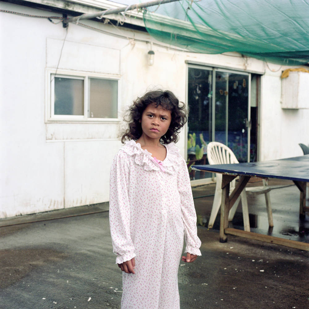 Rhiannon Adam, The Loneliest Child in the World, Cushana Warren-Peu. From the series Big Fence/Pitcairn Island, 2015-2018