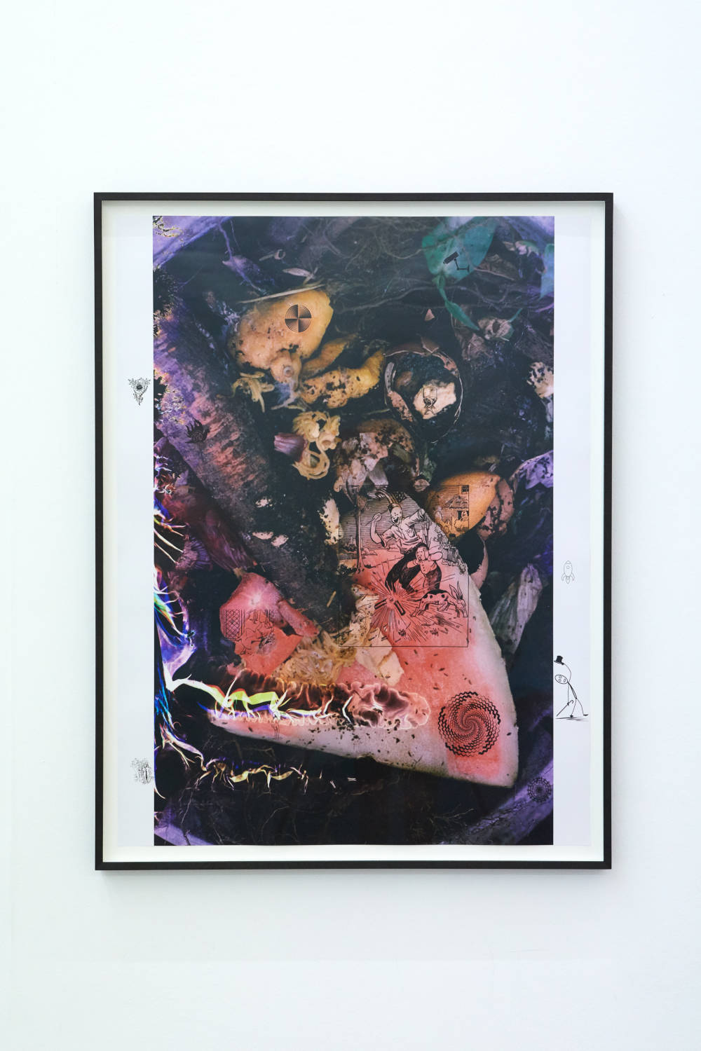 Ryan Foerster, re-compost, 2014-2019. Unique digital c-print. Image Dimensions: 103 x 77 cm (40.55 x 30.31 inches) Courtesy of the artist & VNH Gallery. Photo: Johanna Benaïnous