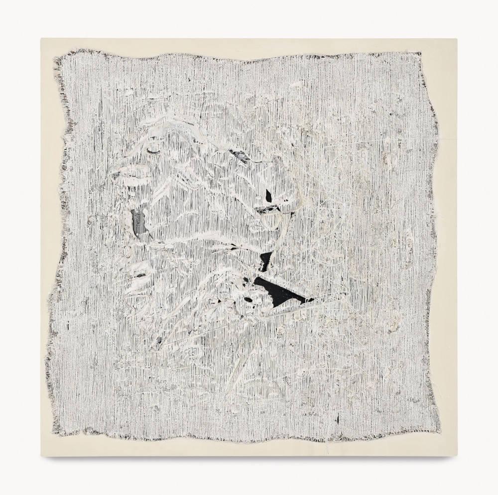 Soto, Gran pasta, 1959 – 1960. Mixed media on panel 100 x 100 x 16 cm / 39 3/8 x 39 3/8 x 6 1/4 in. Photo: David Bordes © 2019 Artist Rights Society (ARS), New York / ADAGP, Paris