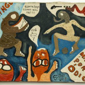 Sérgio Sister: Images of a Pop Youth - Political Paintings and Prison Drawings @Galeria Nara Roesler São Paulo, São Paulo  - GalleriesNow.net