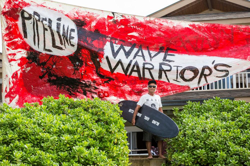 Herbie, Wave Warriors, North Shore, Hawaii, 2015