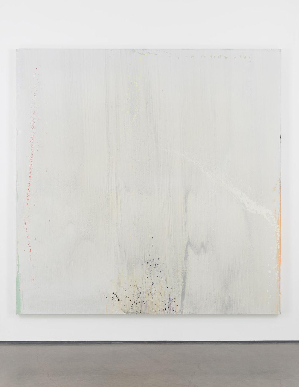 Pat Steir, Fog in the East II, 1998–99. Oil on canvas 108 x 108 inches (274.3 x 274.3 cm) © 2019 Pat Steir. Photo: Elisabeth Bernstein