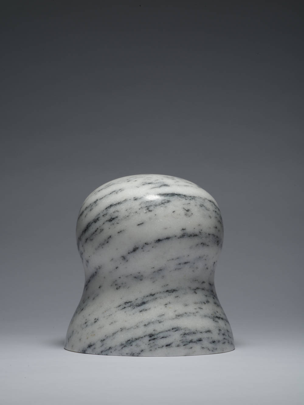 Zhao Zhao, Control 11, 2019. Natural marble 7.87 x 7.68 x 7.68 in (20.0 x 19.5 x 19.5 cm) Courtesy of the artist and Roberts Projects, Los Angeles, California