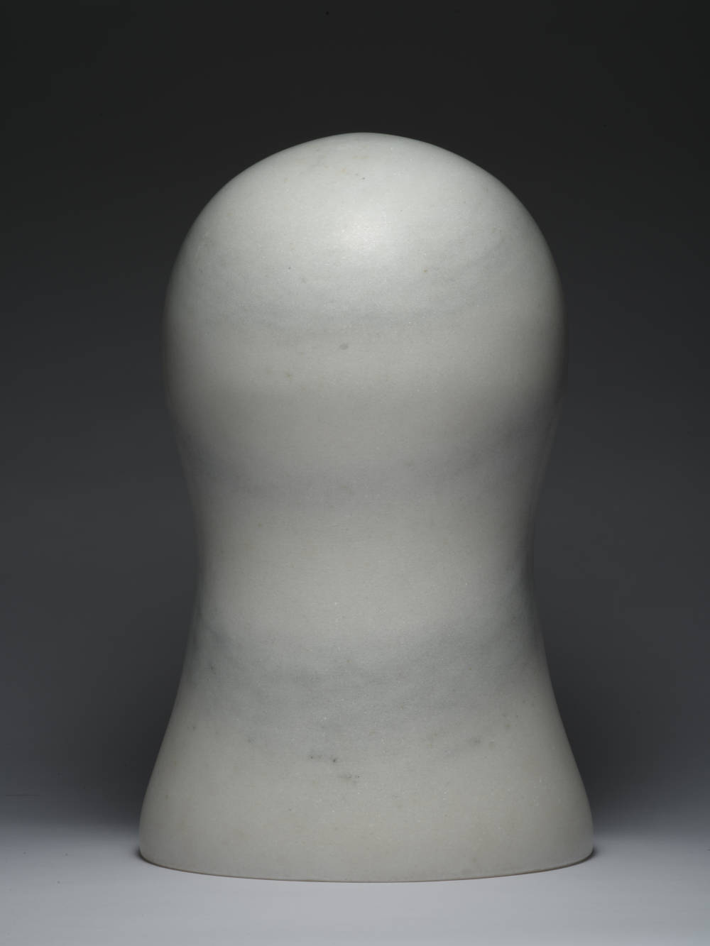 Zhao Zhao, Control 19, 2019. Natural marble 16.54 x 9.84 x 9.84 in (42 x 25 x 25 cm) Courtesy of the artist and Roberts Projects, Los Angeles, California
