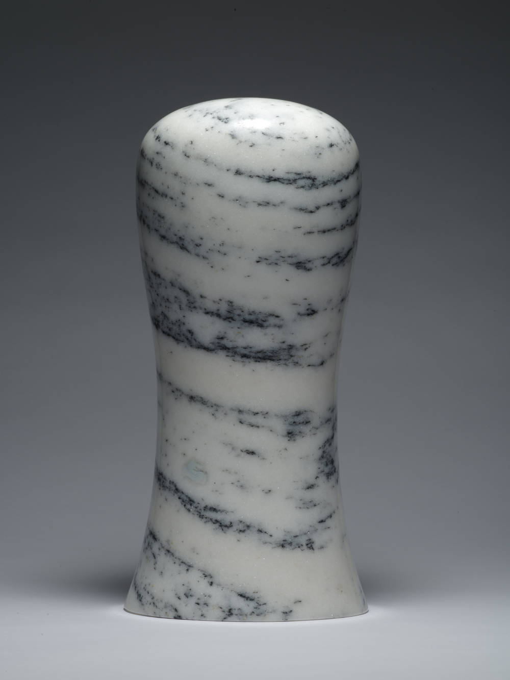 Zhao Zhao, Control 9, 2019. Natural marble 13.78 x 6.54 x 6.54 in (35.0 x 16.6 x 16.6 cm) Courtesy of the artist and Roberts Projects, Los Angeles, California