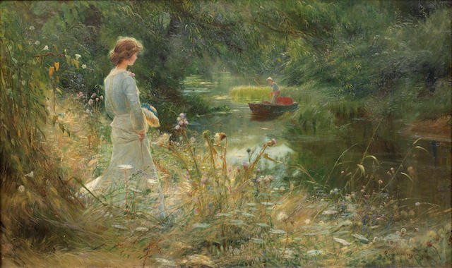19th Century European Victorian British Impressionist Art Bonhams