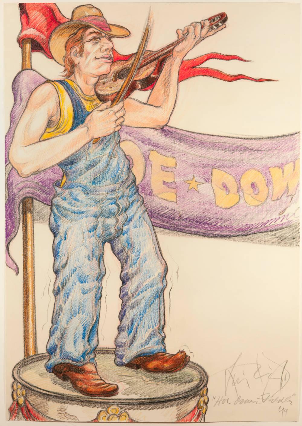 Hoe Down Fiddler (Fargo, ND)