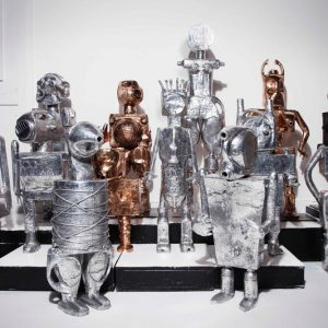Mia Fonssagrives Solow: Robots/Femmebots @Findlay Galleries, New York  - GalleriesNow.net