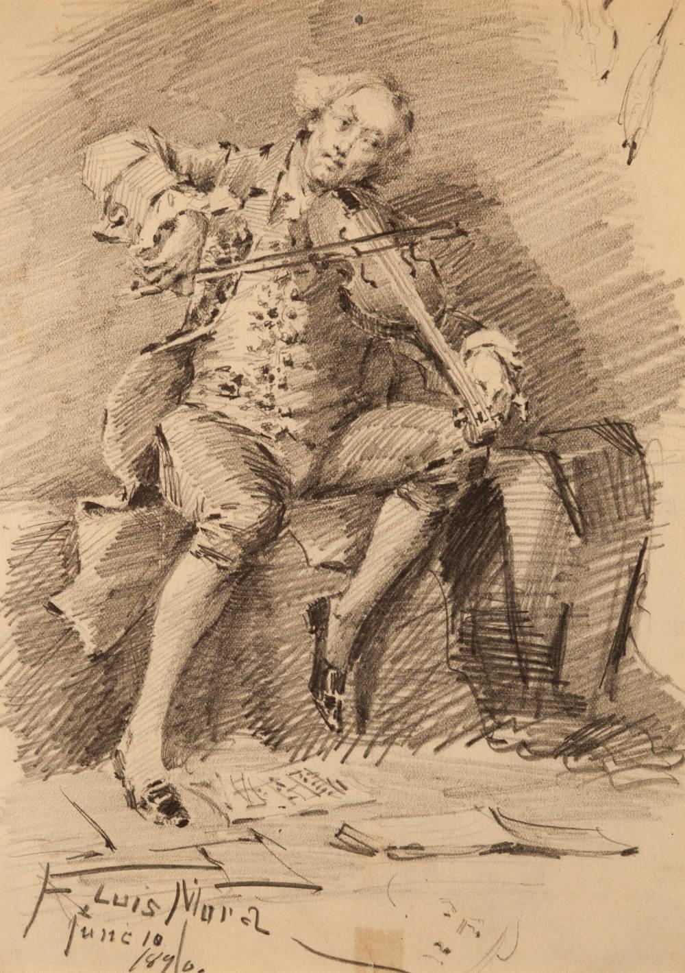 Untitled (Violinist)