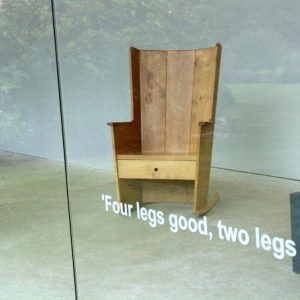 Four Legs Good, Two Legs Bad @New Art Centre, Salisbury  - GalleriesNow.net
