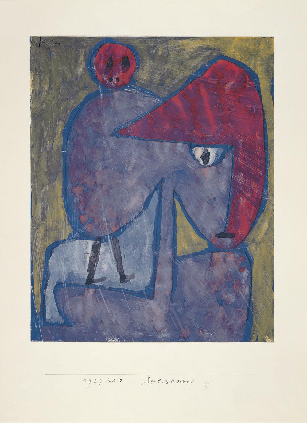 Paul Klee Besessen Possessed 1939