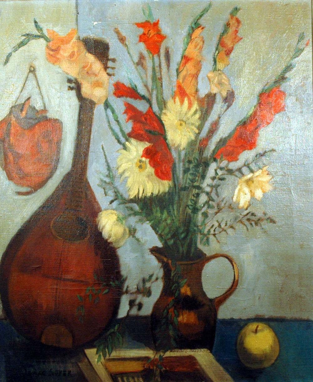 Mandolin & Vase