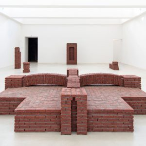 Per Kirkeby: Brick Sculptures @Axel Vervoordt Gallery, Antwerp  - GalleriesNow.net