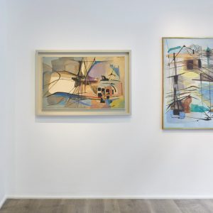 Giuseppe Santomaso: Animated Painting @Cortesi Gallery, London  - GalleriesNow.net