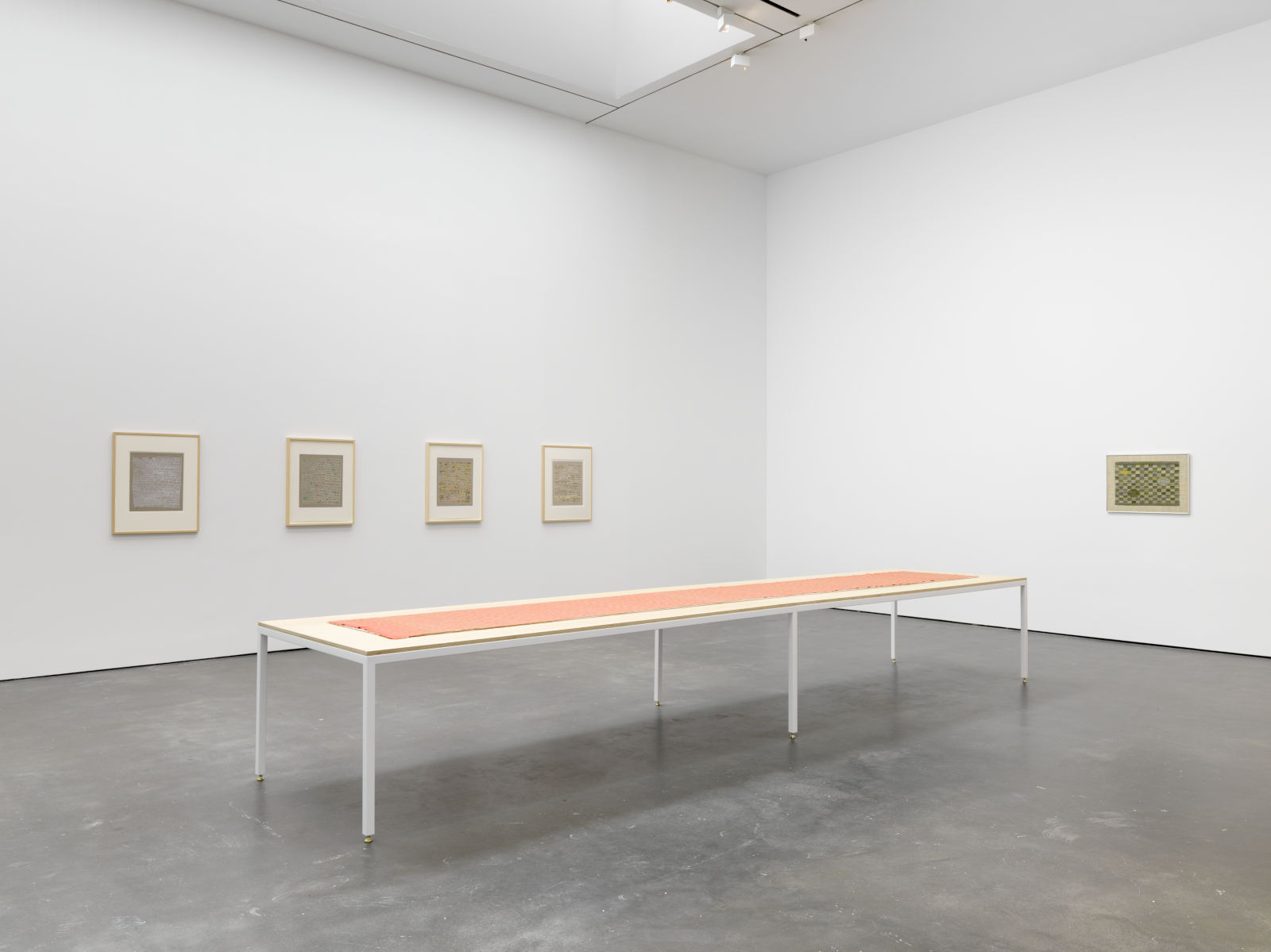 David Zwirner 20th St Anni Albers 1
