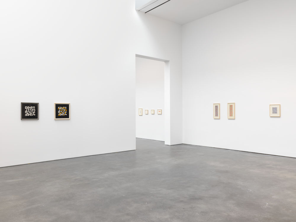 David Zwirner 20th St Anni Albers 2