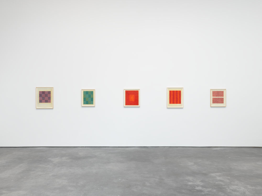 David Zwirner 20th St Anni Albers 3