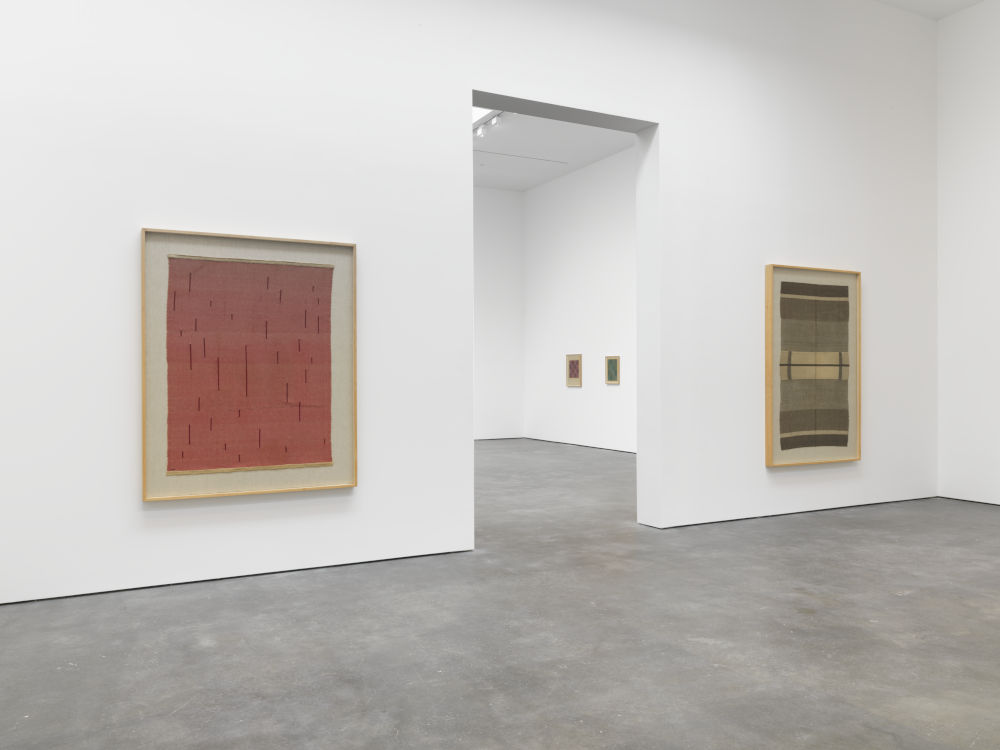 David Zwirner 20th St Anni Albers 4