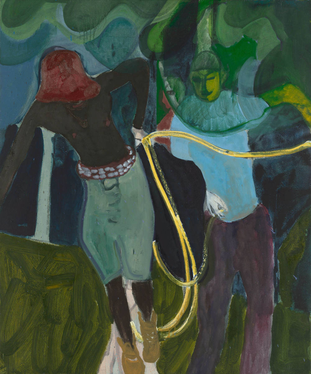 Three Men with a Rope