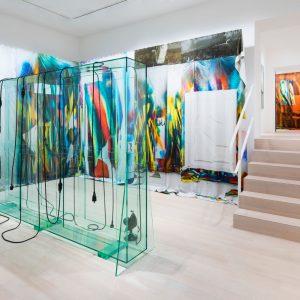 Katharina Grosse | Tatiana Trouvé @Gagosian, Basel  - GalleriesNow.net