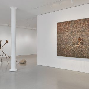 Giuseppe Penone: Foglie di bronzo / Leaves of Bronze @Gagosian, San Francisco  - GalleriesNow.net