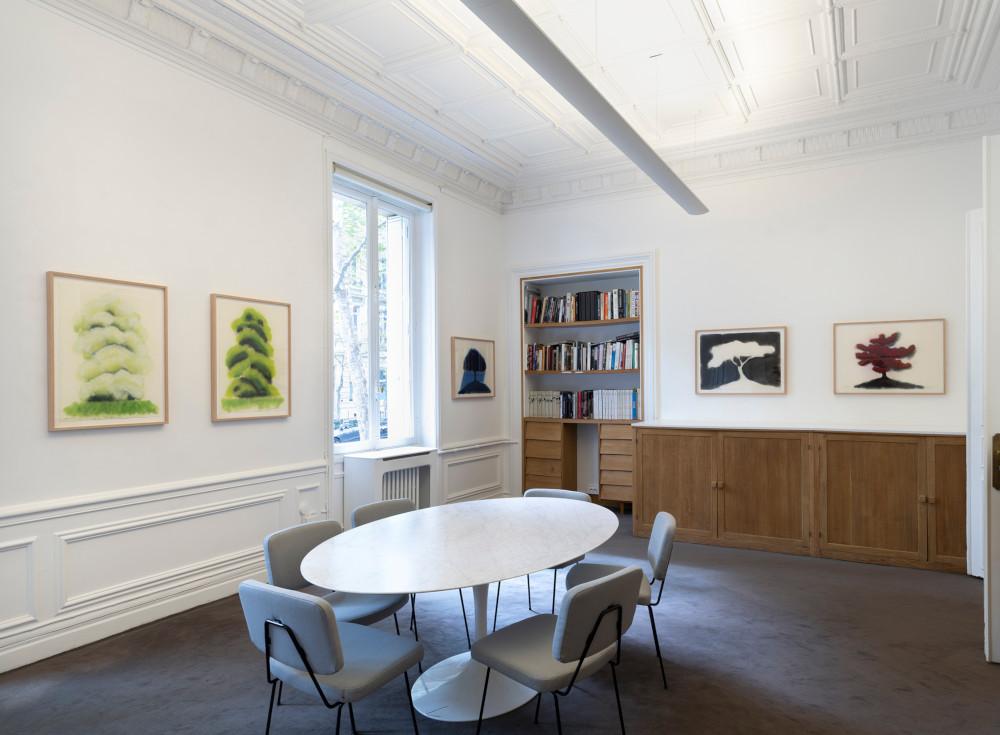 Galerie Lelong David Nash 2