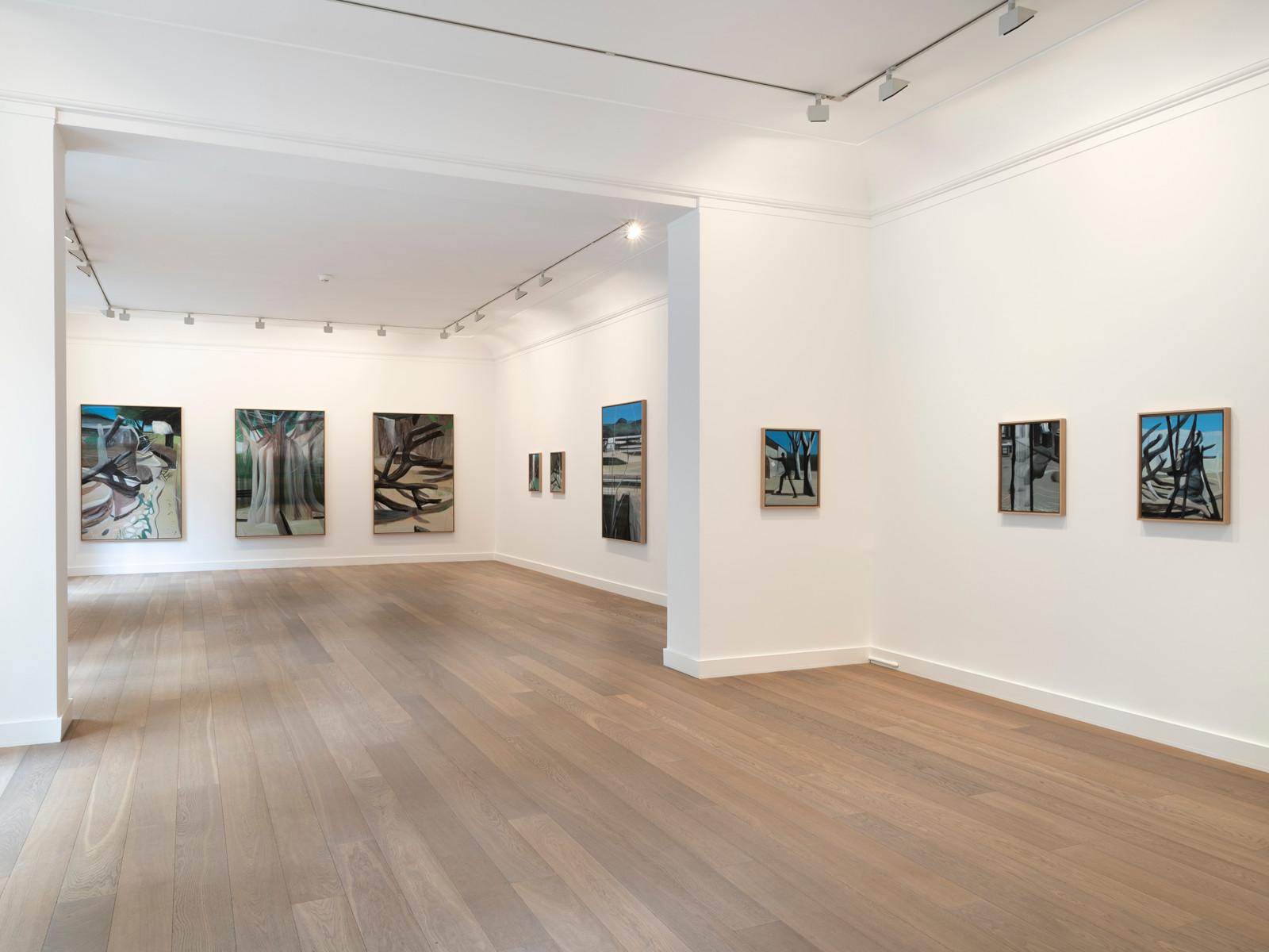 Galerie Lelong Marc Desgrandchamps 1