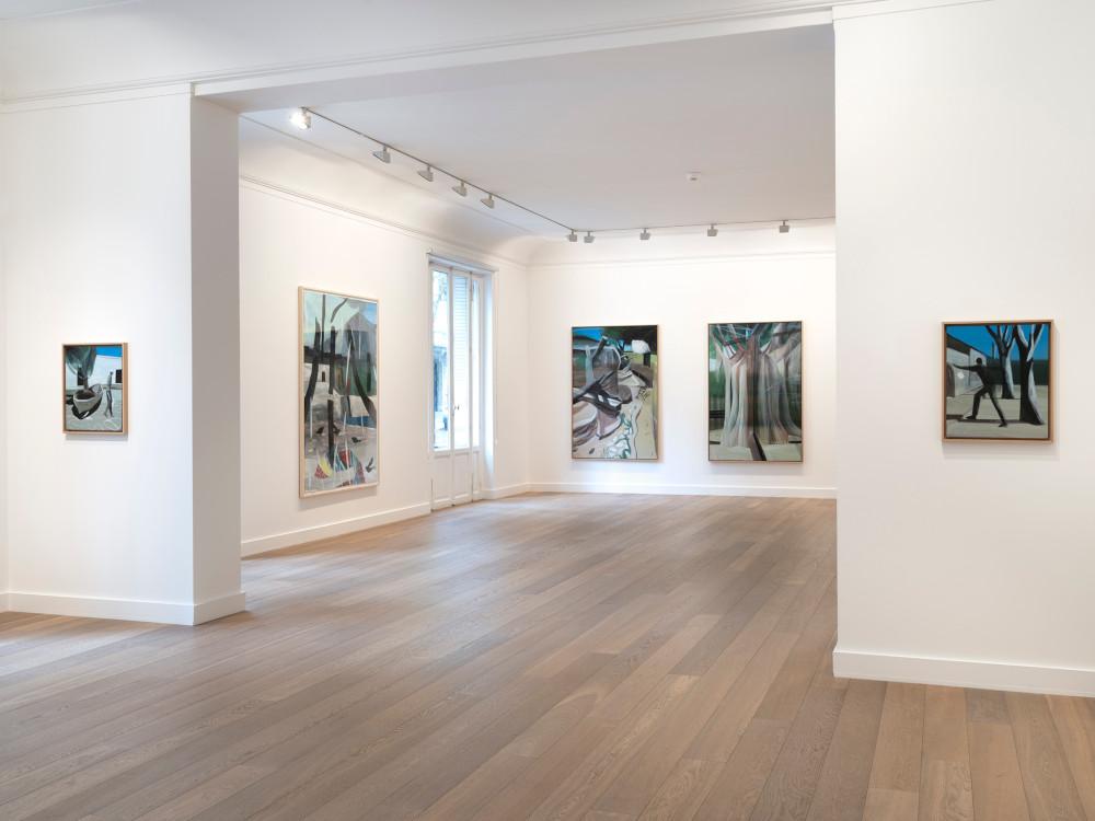 Galerie Lelong Marc Desgrandchamps 2