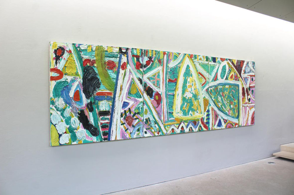 Gillian Ayres New Art Centre