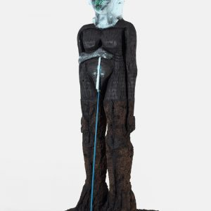 Huma Bhabha: The Company @Gagosian Rome, Rome  - GalleriesNow.net