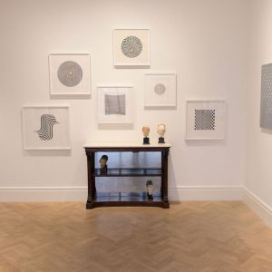 Bridget Riley: Lines of Enquiry @Lyndsey Ingram, London  - GalleriesNow.net