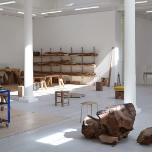 Danh Vo: Cathedral Block, Prayer Stage, Gun Stock @Marian Goodman Gallery, London  - GalleriesNow.net