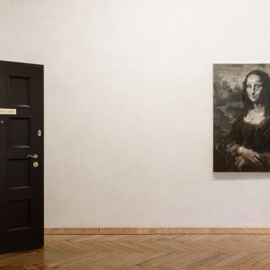 Yan Pei-Ming: L'ultimo Sorriso, Le Dernier Sourire, The Last Smile @Massimo De Carlo, Milan / Belgioioso, Milan  - GalleriesNow.net