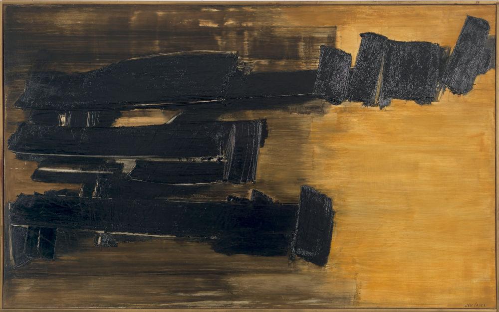Peinture 125 x 202cm, 30 octobre 1958