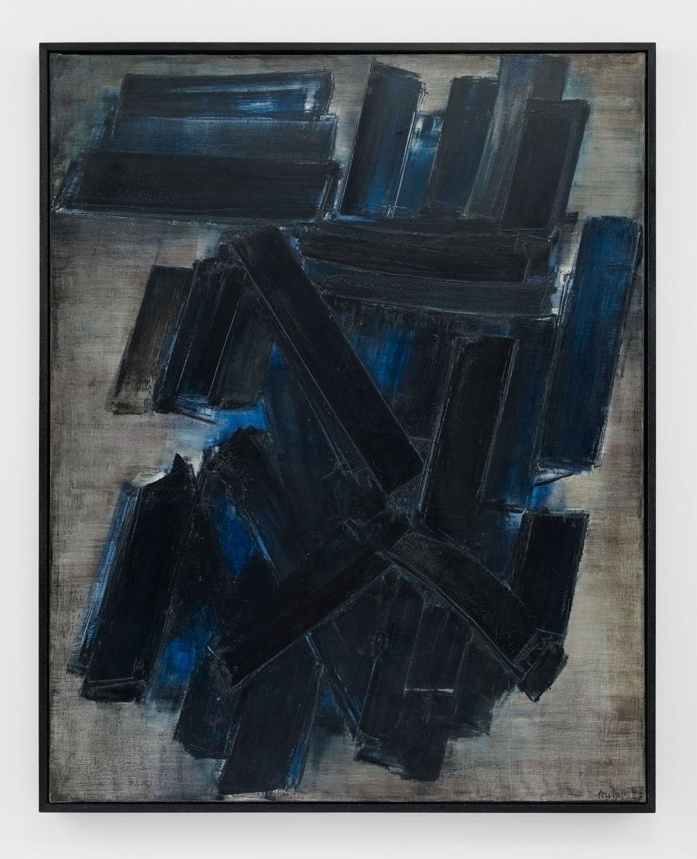 Peinture 195 x 155 cm, 7 février 1957