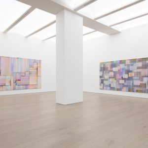Bernard Frize: Journey in Autumn @Perrotin, New York  - GalleriesNow.net